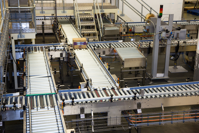 Conveyor Systems by Kensal for Manor Bakeries